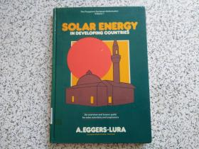 SOLAR ENERGY IN DEVELOPING COUNTRIES  精装本