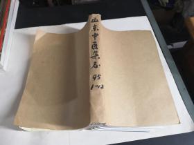 山东中医杂志【1995年1-12期全】合订本