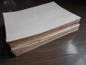 老纸头【70年代白纸,1000张】尺寸:27.2×19.8厘米