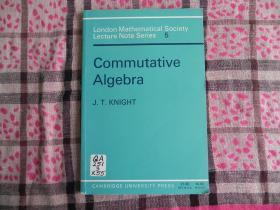 Commutative Algebra (London Mathematical Society Lecture Note Series)  原版