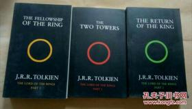 The Lord of the Rings 1:The Fellowship of the Ring 2.The two Towers 3.The Return of the King 指环王全三册