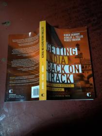 Getting India back on Track:AN ACTION AGENDA FOR REFORM[让印度重回正轨:改革的行动纲领]原版 库存