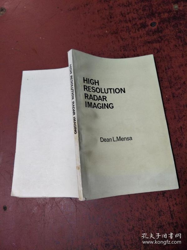 高分辨率雷达成象high resolution radar imaging,英文版【交流版  没勾画】