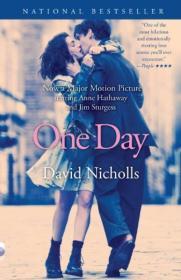 One Day, Movie Tie-In一天,电影版 英文原版 [平装]