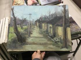 马良超风景油画