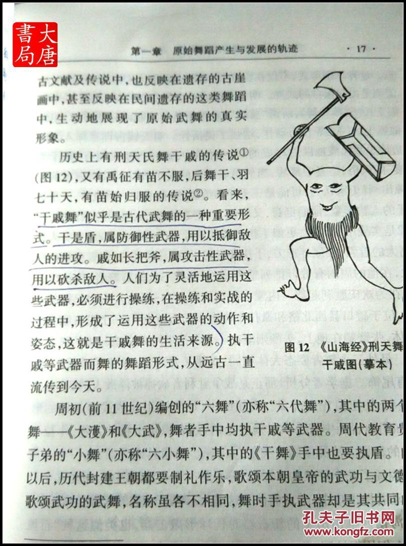 《中国舞蹈发展史》 a22