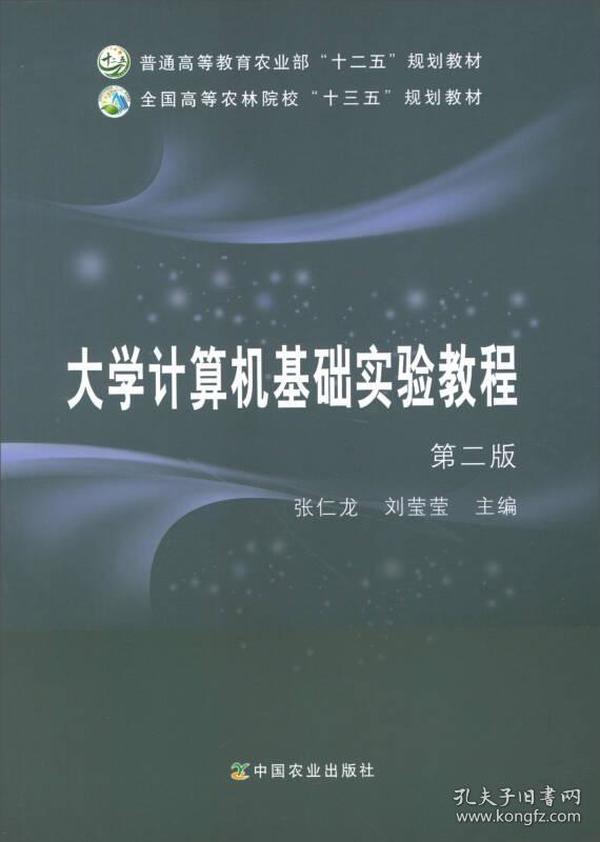 大学计算机基础实验教程第二版