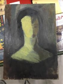 原框 原创老油画(年代自鉴)