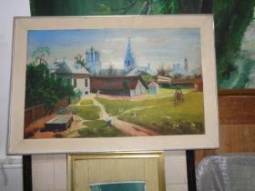 刚收来老油画-60厘米*40厘米