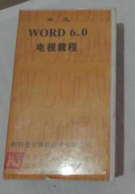 中文 WORD 6.0电视教程 -录像带