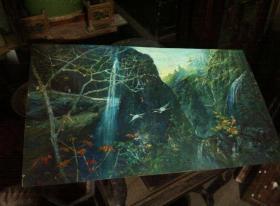 刚收来老油画-60厘米*40厘米.