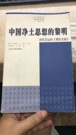 中国净土思想的黎明:净影慧远的《观经义疏》