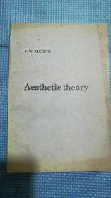 AESTHETIC THEORY  【美学理论】