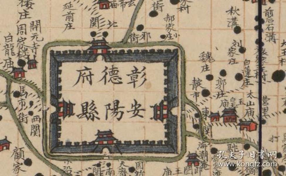荥泽古城规划图