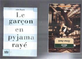 法语原版小说 Le garçon en pyjama rayé / John Boyne