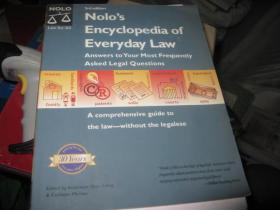 NOLO,S ENCYCLOPEDIA OF EVERYDAY LAW