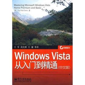 WindowsVista从入门到精通中文版