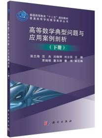 高等数学典型问题与应用案例剖析(下册)