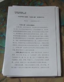 中国伊斯兰教的丝绸之路优势和作为  复印本