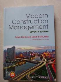 modern construction management 7th Frank Harris正版