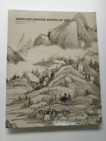 Bonhams 舊金山邦瀚斯2018年6月拍賣 亞洲藝術品 拍賣圖錄 瓷器玉器雜項書畫(貨號8)