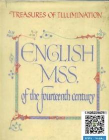 【包邮】English MSS of the Fourteenth Century《手抄本珍藏:英国14世纪手绘本精选》24幅贴片式图版印刷极精美中世纪手抄本插图本重要文献