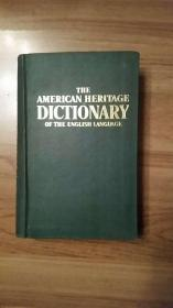 THE AMERICAN HERITAGE DICTIONARY OF THE ENGLISH LANGUAGE 美国传统英语词典