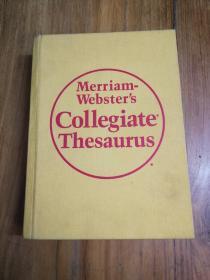 Merriam-Websters Collegiate Thesaurus