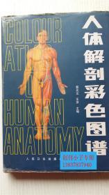 人体解剖彩色图谱  郭光文 王序 主编     16开精装本,9787117007290  有现货