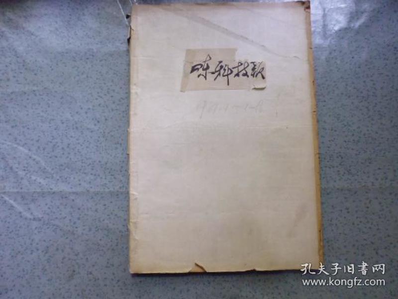 山东科技报1981年1——12月全年原报纸