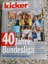 原版踢球者德甲40周年纪念特刊