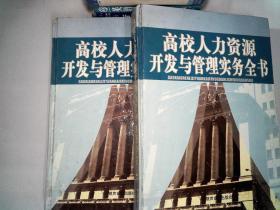 高校人力資源開發與管理實務全書 一 二合售、