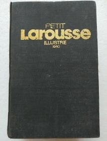 法文原版:PETIT Larousse ILLUSTRE1980 小拉鲁斯百科词典