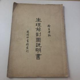 生理解剖图说明书(民国初版)