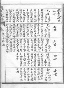 浙江上虞镇龙赵氏家谱(清代手抄古籍复印版)五册五卷