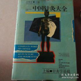 中国针灸大全.上编.针灸学基础