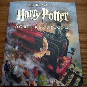 Harry Potter and the Sorcerer's Stone 16开,硬精装插图本