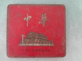 XB-烟标烟盒收藏-金属质中华烟老烟标或烟盒,中华香烟老盒子