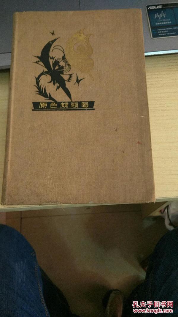 原色蝶类图谱(日版彩图)