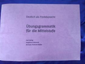 Übungsgrammatik für die Mittelstufe德语语法疑难题解