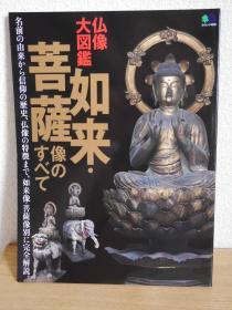 日本佛像大图鉴  如来像大全   菩萨像大全 多图  资料性强   大16开  157页 品好包邮!