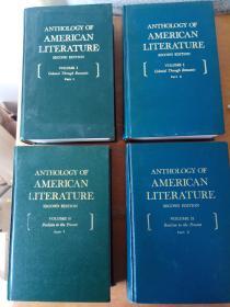 Anthology of American Literature(美国文学选)