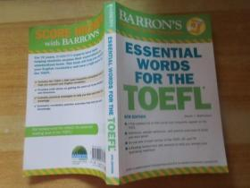 Barrons Essential Words for the Toefl