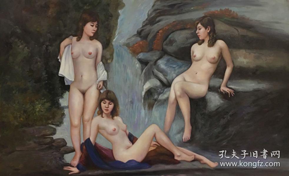 中国美术家协会会员孙为民油画作品