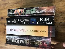 2345:英文原版《john grisham (the chamber ,the king of torts ,a painted house )3册,DECEPTIONS SWEETKISS GINAROBINS一册 4册合售》