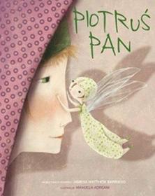 Peter pan欧洲插画师Manuela Adreani插图版儿童故事书 波兰语版
