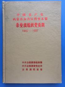 奈曼旗組織史資料