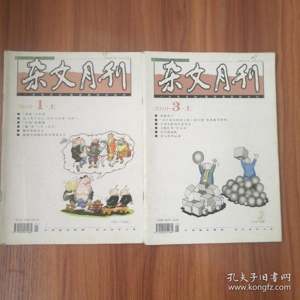 杂文月刊2010年11本