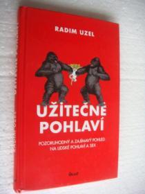 捷克语 UZITEČNE POHLAVI  关于性的趣味插图本,内容稀见, 精装