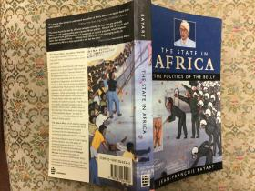 The State in Africa: The Politics of the Belly非洲国家:肚皮政治,1993蓝文版,九品,稀少